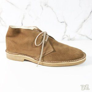 Apache Shearling Lined Suede Desert Boots